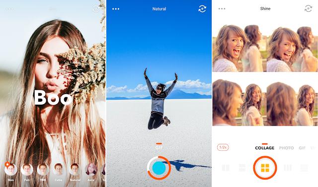 Screenshot Retrica - Selfie, Sticker, GIF Pro