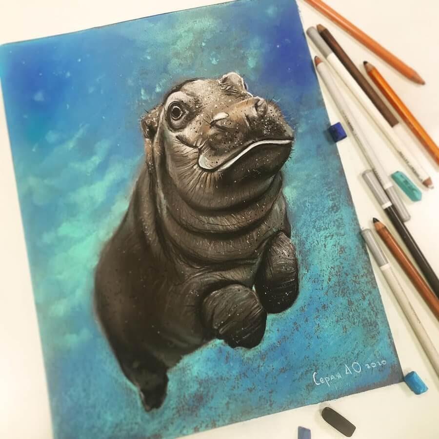 01-Baby-Hippo-Cute-Animals-Анастасия-Серая-www-designstack-co