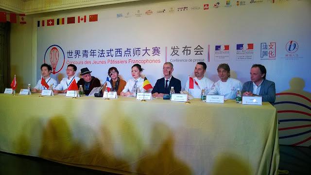 Concours de jeunes patissiers francophones Changsha