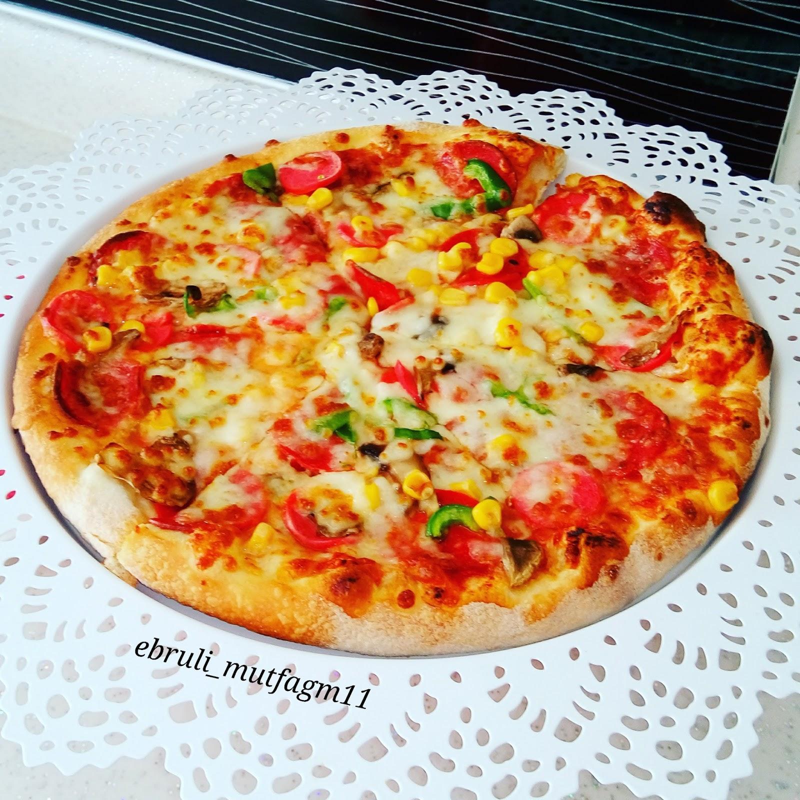 Pizza hamuruyla sadece pizza yapılmıyor