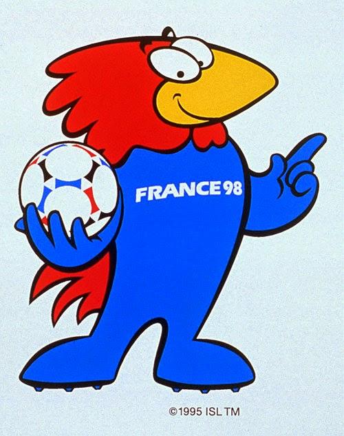 Footix Mascota del Mundial de Futbol año 1998 Francia