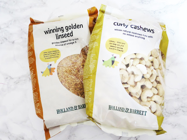 Holland And Barrett Curly Cashews
