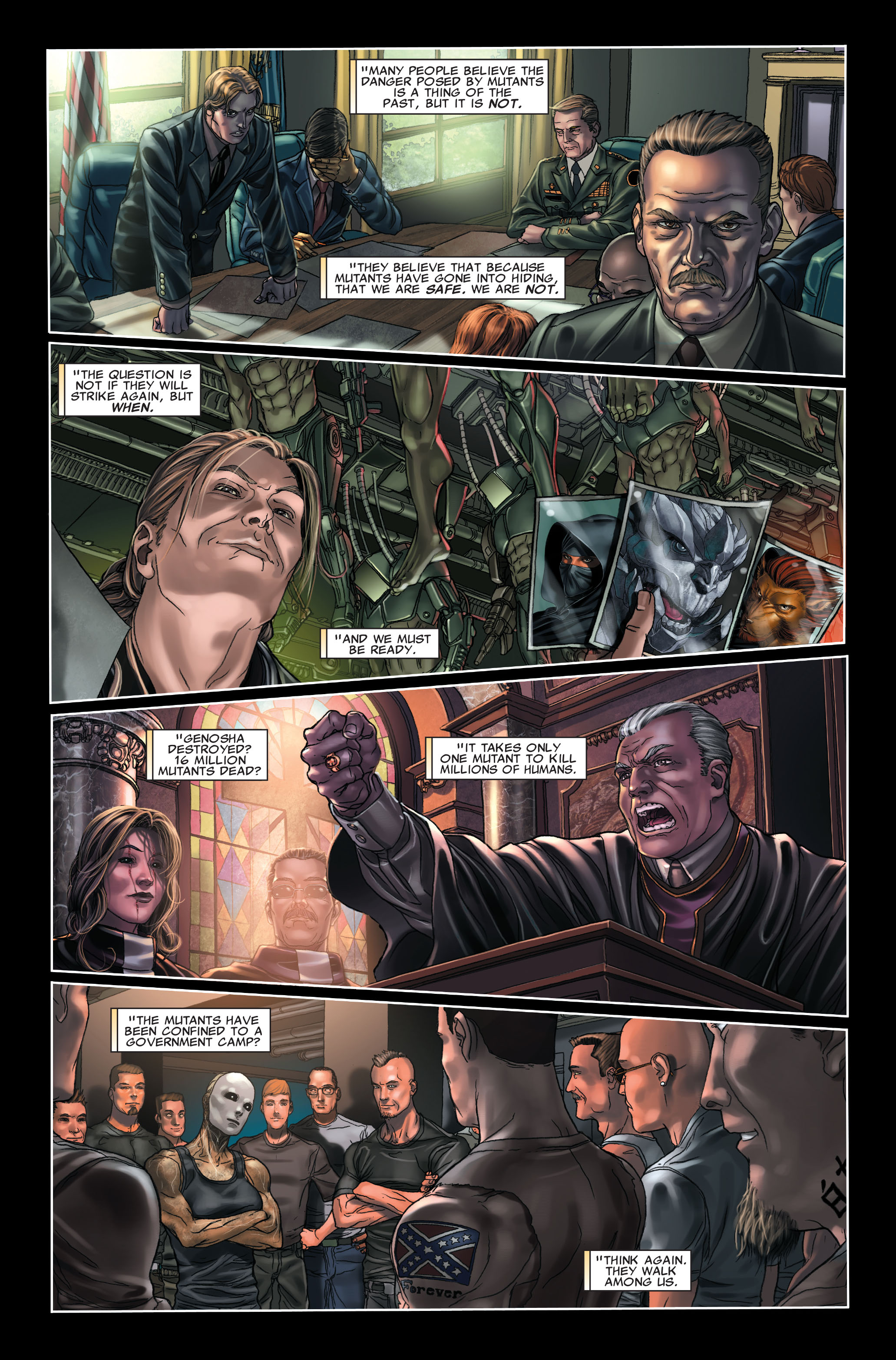 Read online X-Force (2008) comic -  Issue #7 - 19