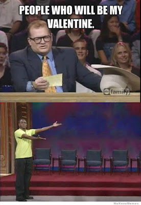 drew carey valentine, whose line is it anyway people valentine, valentine humor, valentine funny, valentine's day meme
