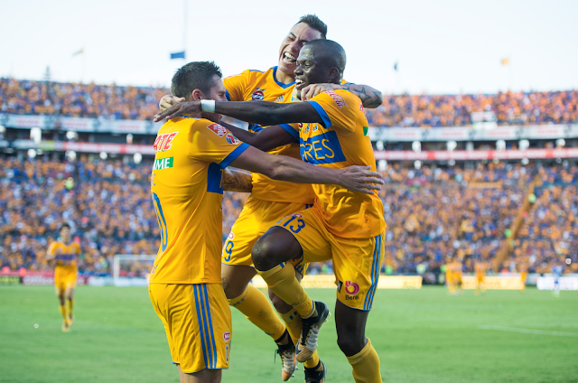 Tigres venció 5-0 al Puebla