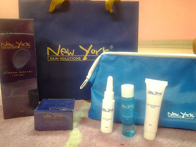 nyss facial set, set muka new york skin solutions