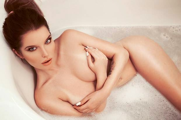 Helen Flanagan in The Sun Magazine Photoshoot 2014