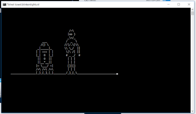 Cara Nonton Film Star Wars di Command Prompt / CMD Windows 10