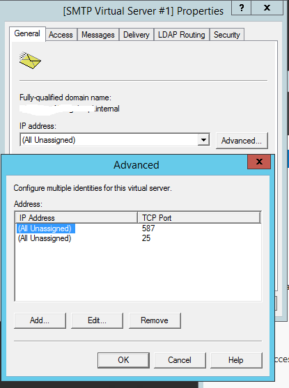 Windows Admin Notebook: Configuring SMTP relay for Office365