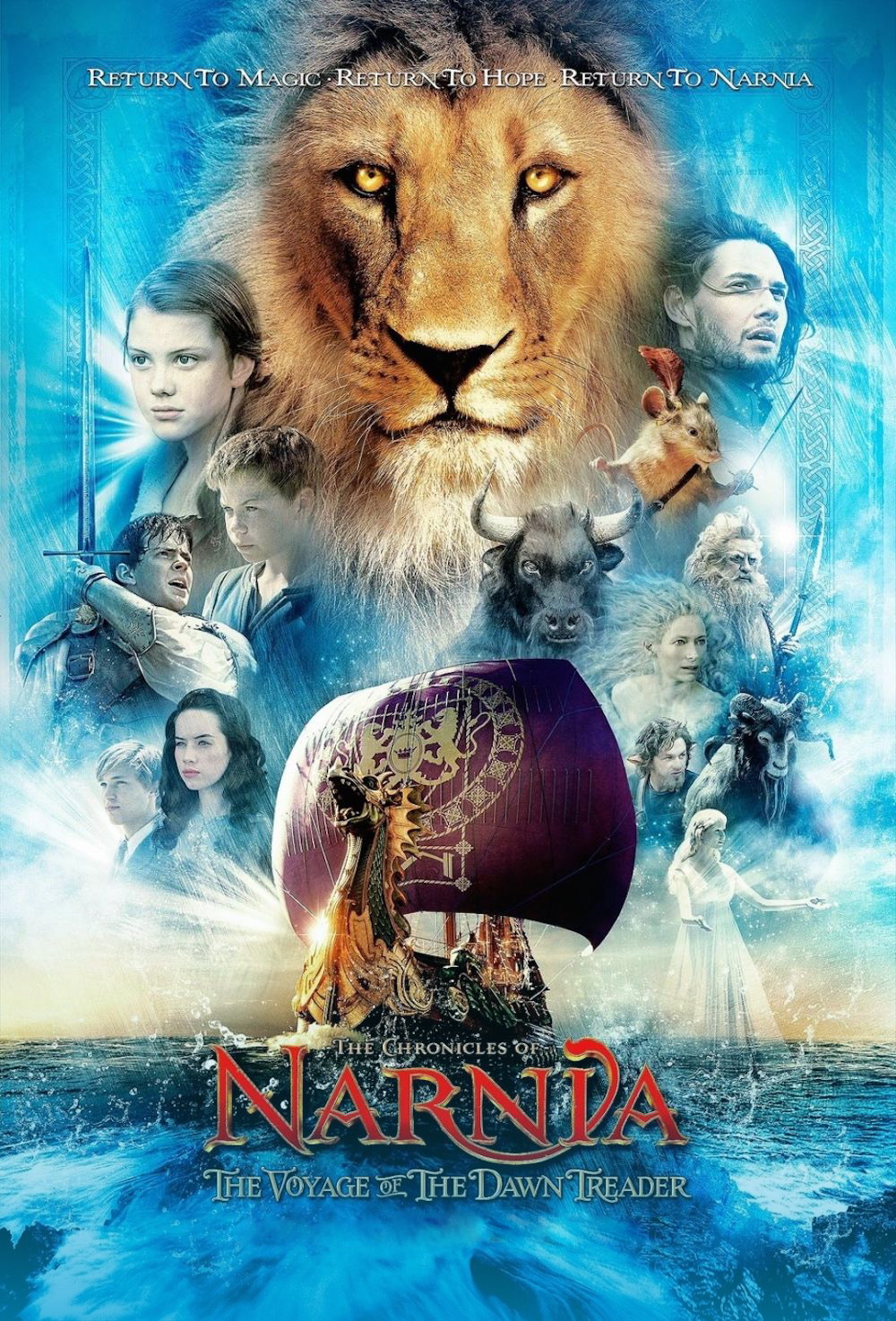 The Chronicles of Narnia: The Voyage of the Dawn Treader [2010] [DVDR] [NTSC] [Latino]
