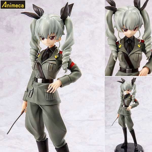 ANCHOVY Commander Girls Collection FIGURE Girls und Panzer Penguin Parade