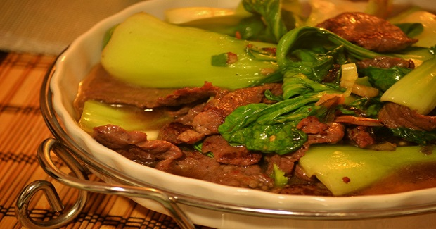 Stir-fry Beef And Bok Choy Recipe