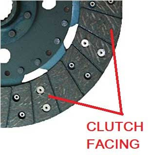 clutch facings
