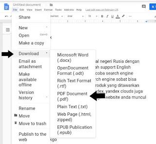 Langkah langkah membuat ebook