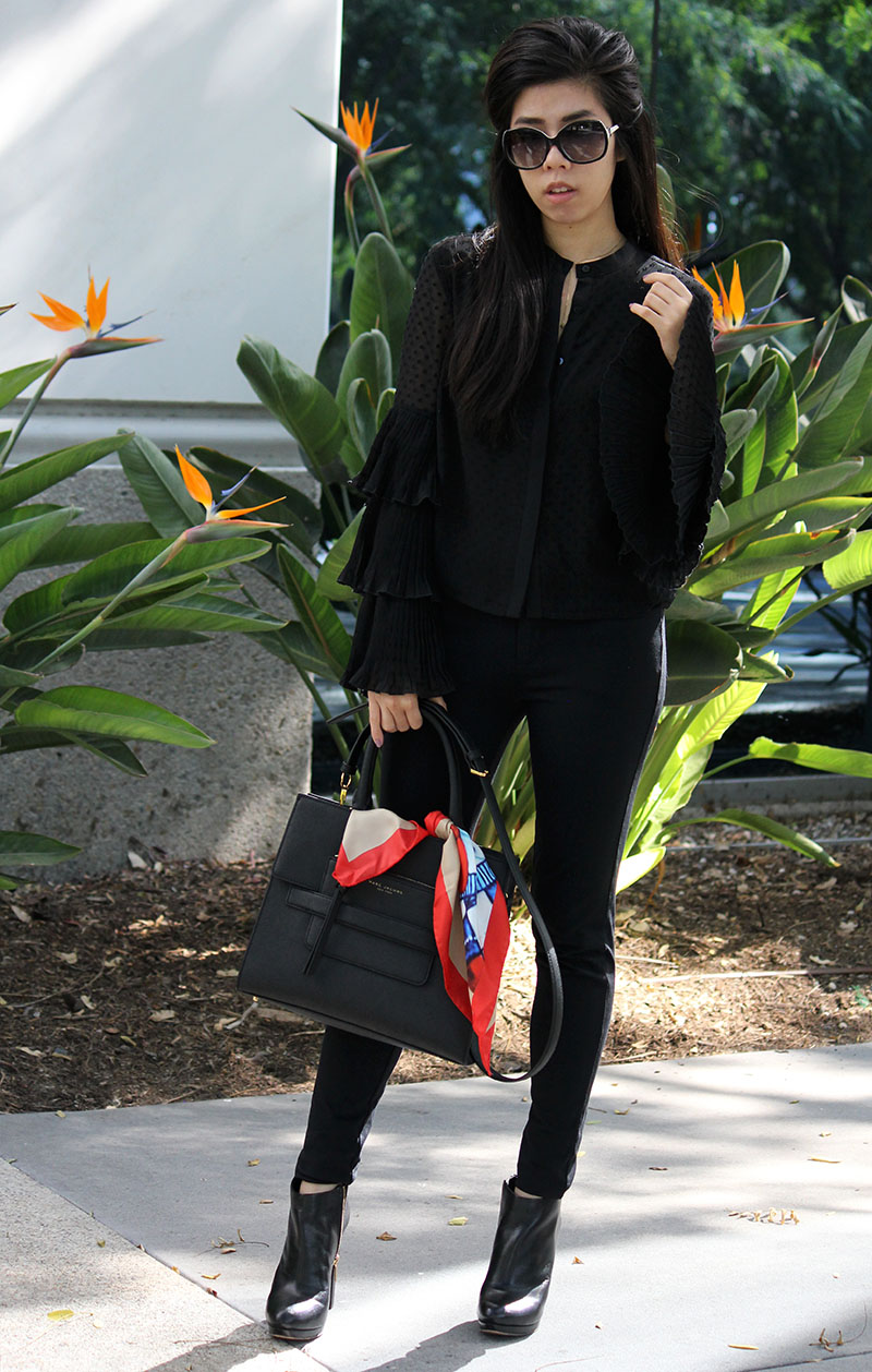 Adrienne Nguyen_Invictus_How to Wear an All Black Outfit_What To Wear with A Sheer Black Top