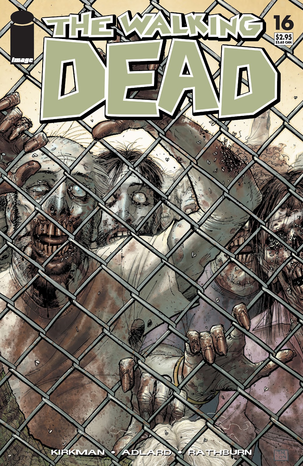 The Walking Dead issue 16 - Page 1