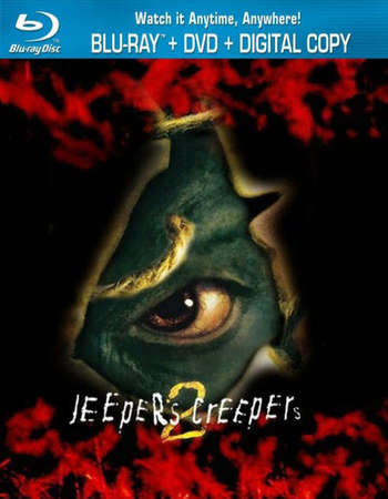 Poster Of Jeepers Creepers II 2003 Dual Audio 720p BRRip [Hindi - English] ESubs Free Download Watch Online