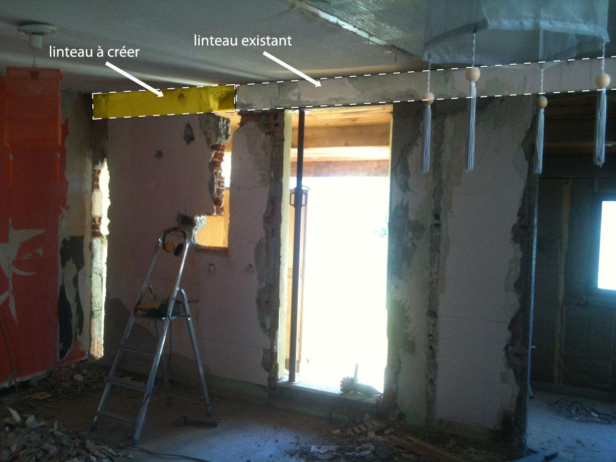 casser mur porteur prix beautiful ouvrir un mur porteur ouverture prix paisseur ml combien. Black Bedroom Furniture Sets. Home Design Ideas