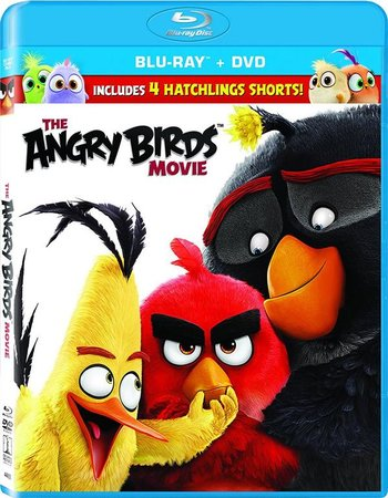 Angry Birds (2016) Dual Audio Hindi 720p BluRay