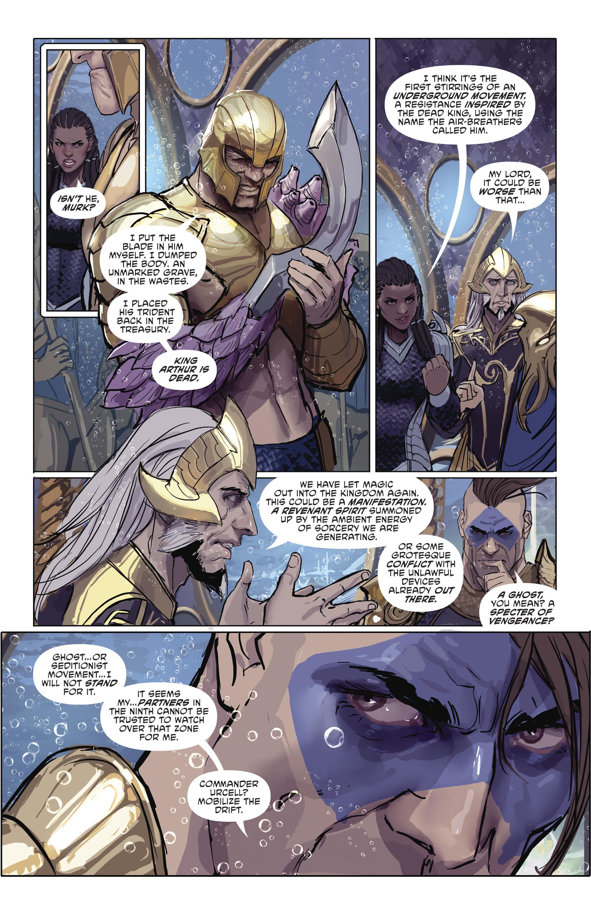 Read online Aquaman (2016) comic -  Issue #25 - 22