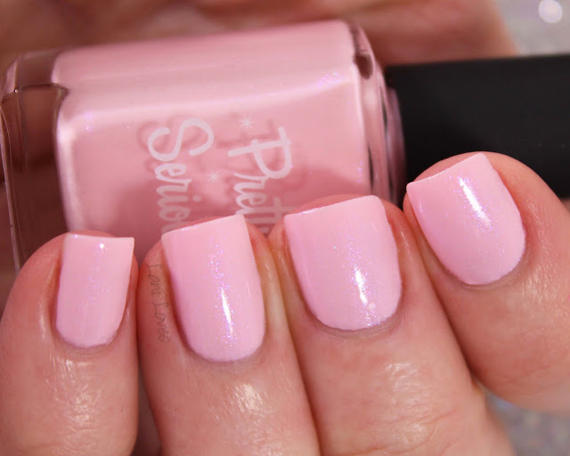Pretty Serious Free Sample nail polish swatches & review