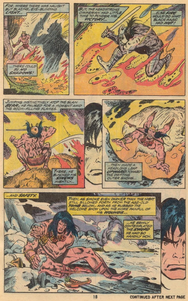 Conan the Barbarian (1970) 31 Page 13