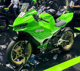 modified Kawasaki Ninja 250 cc 2018