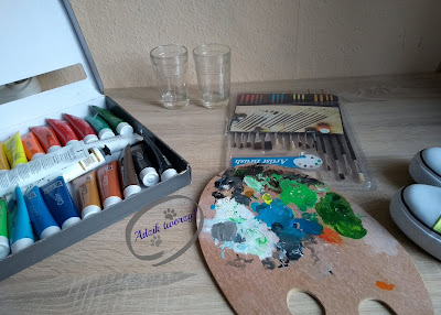 akrylowe farby do malowania tkanin