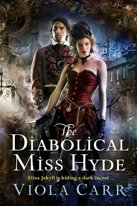 Interview with Viola Carr, author of The Diabolical Miss Hyde - February 12, 2015