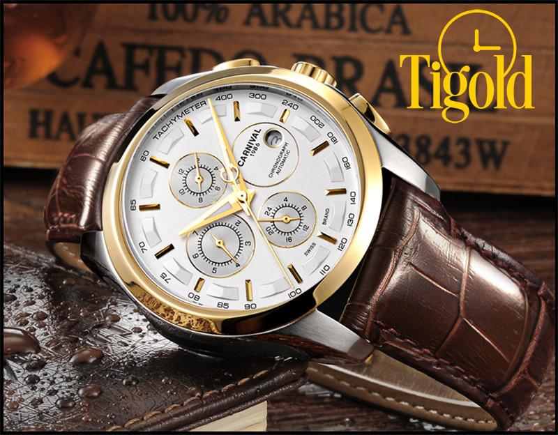 đồng hồ nam carnival thụy sỹ