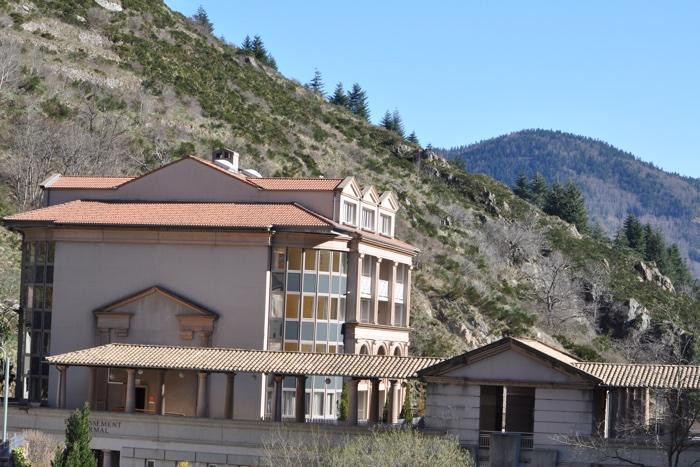Station thermale Saint Laurent les Bains