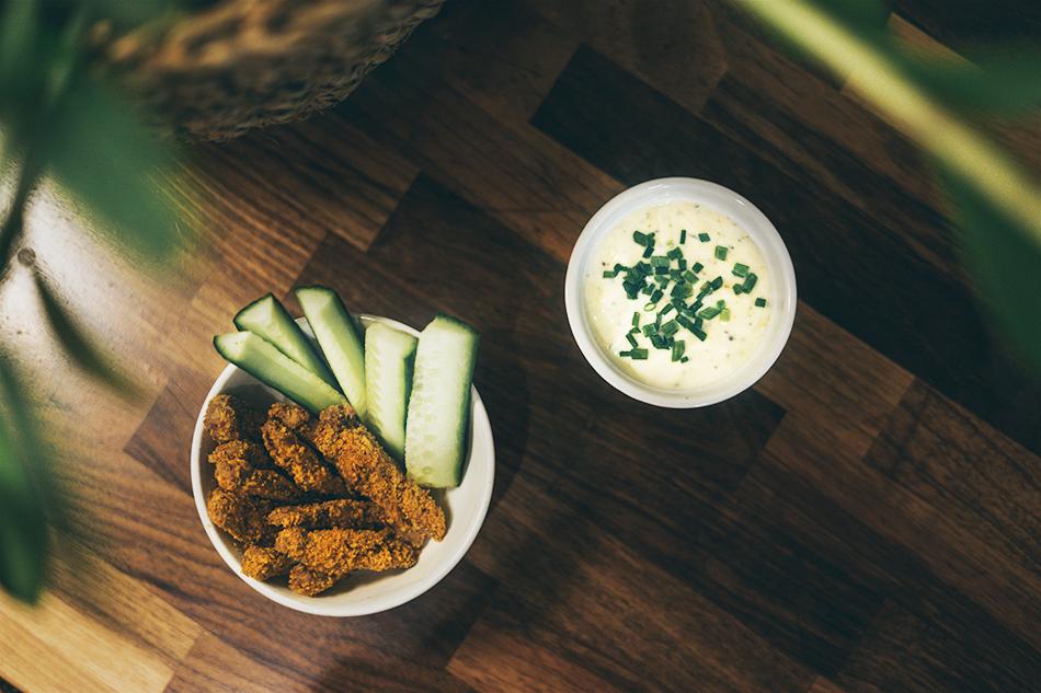 Santa MAria crispy chicken spice mix paneroidut soijasuikaleet resepti vegaani