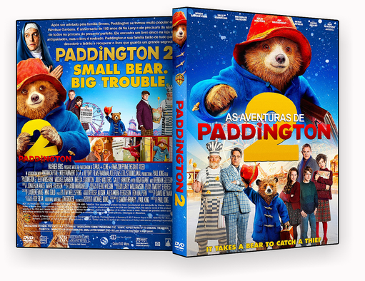 DVD – As Aventuras de Paddington 2 – ISO – CINEMA