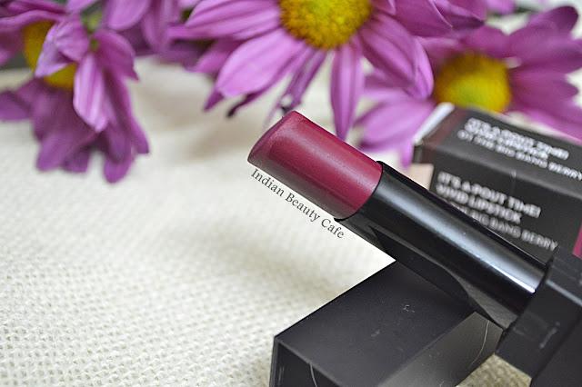 Sugar Its a Pout Time Vivid Lipstick The Big Bang Berry Shade