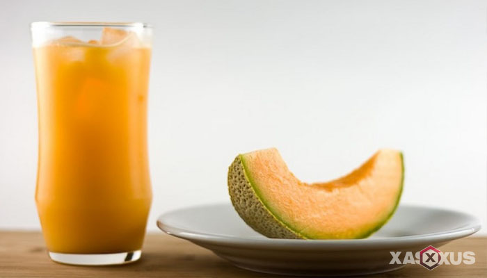 Resep cara membuat jus mangga campur melon