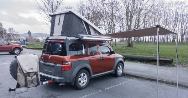 Honda Element Ecamper For Sale Craigslist U003eu003e 2005 Honda Element EX AWD With  Camper