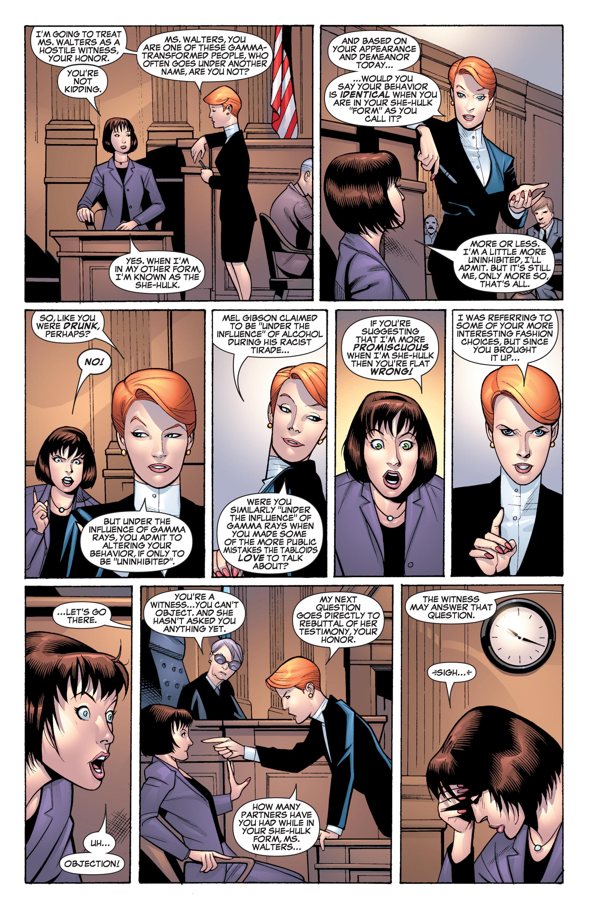 Read online She-Hulk (2005) comic -  Issue #19 - 13