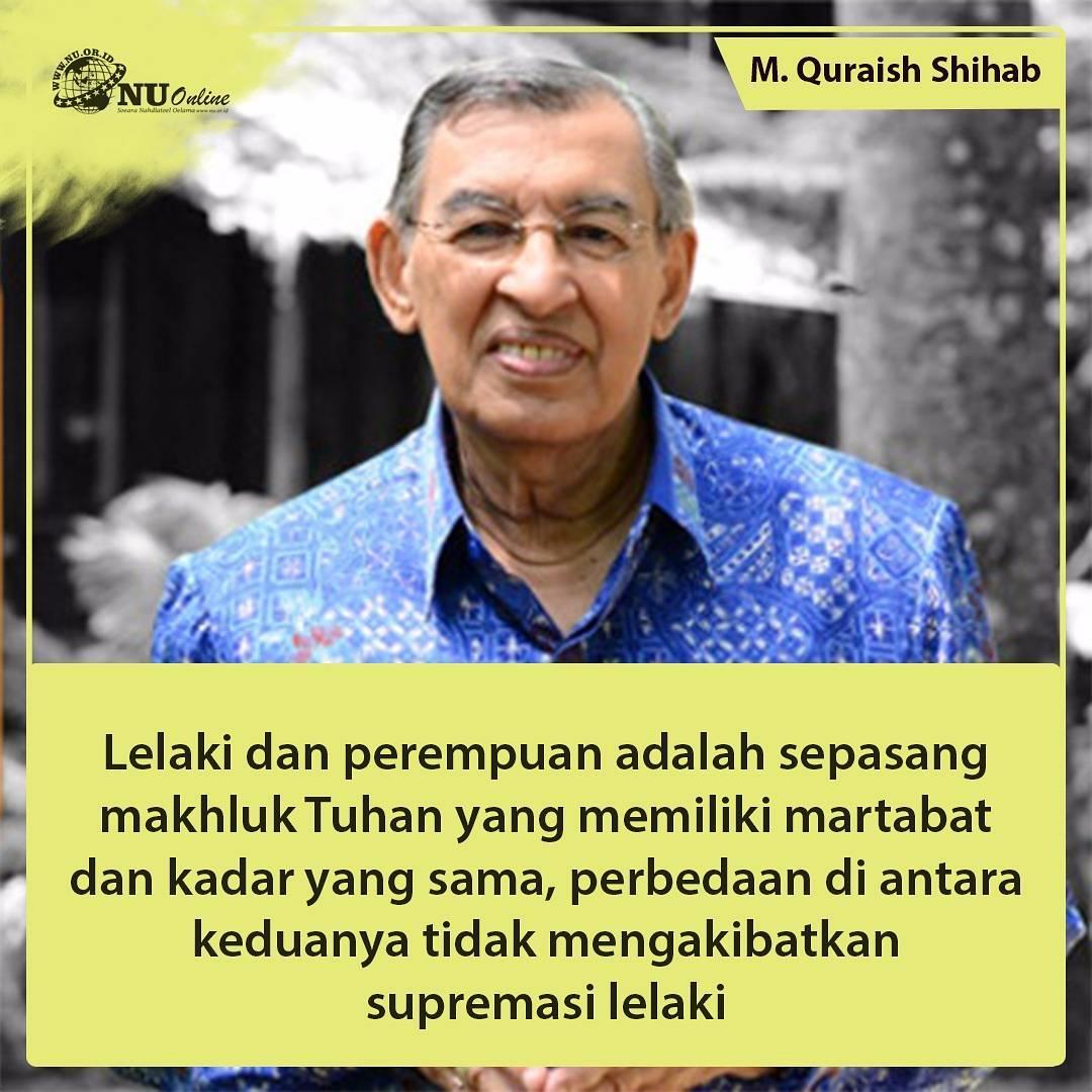 Kutipan Nasehat Karya M Quraish Shihab Meme Comic Santri Info