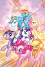 My Little Pony Paperback #1 Comic Cover HC Convention Variant