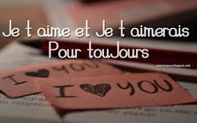 Message d'amour romantique je t'aime ma chérie