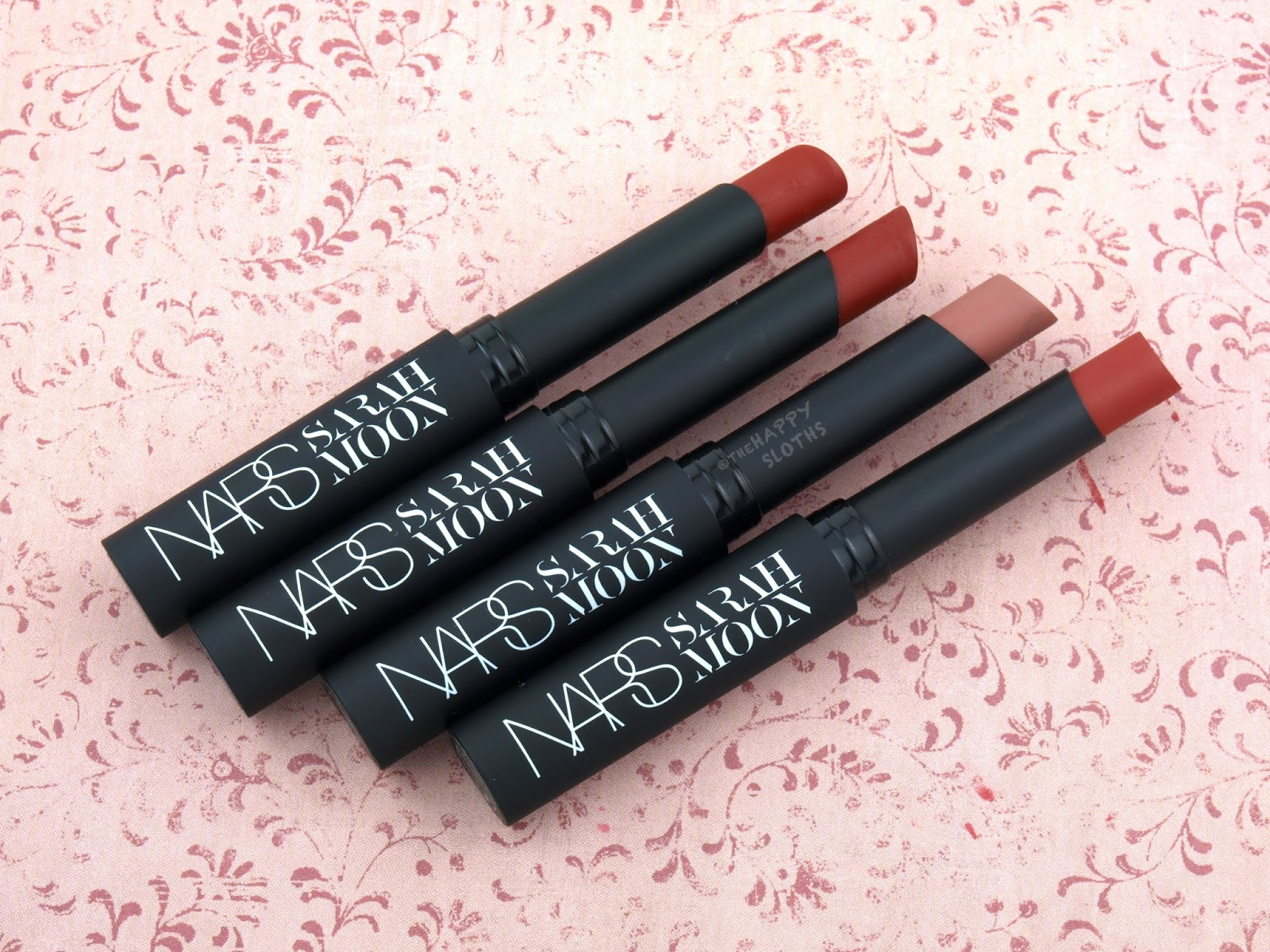 NARS Holiday 2016 Sarah Moon Matte Lipstick Review and Swatches