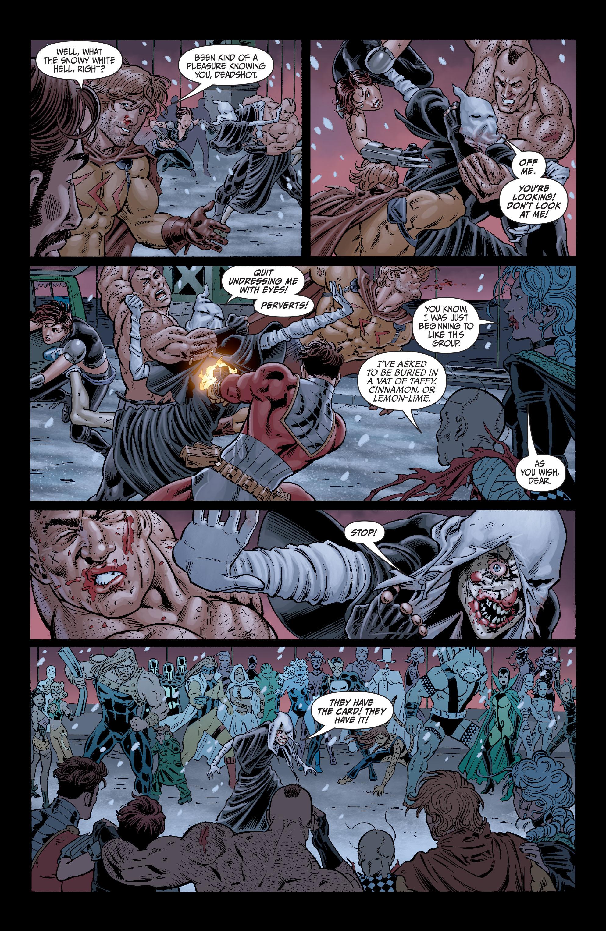 Read online Secret Six (2008) comic -  Issue #7 - 19