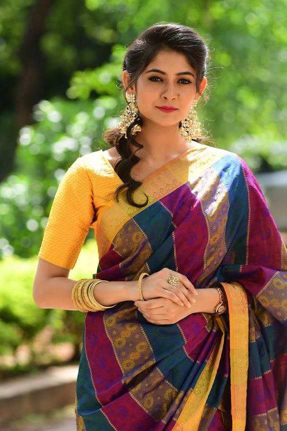 Shivangi at Aswamedham Song Launch