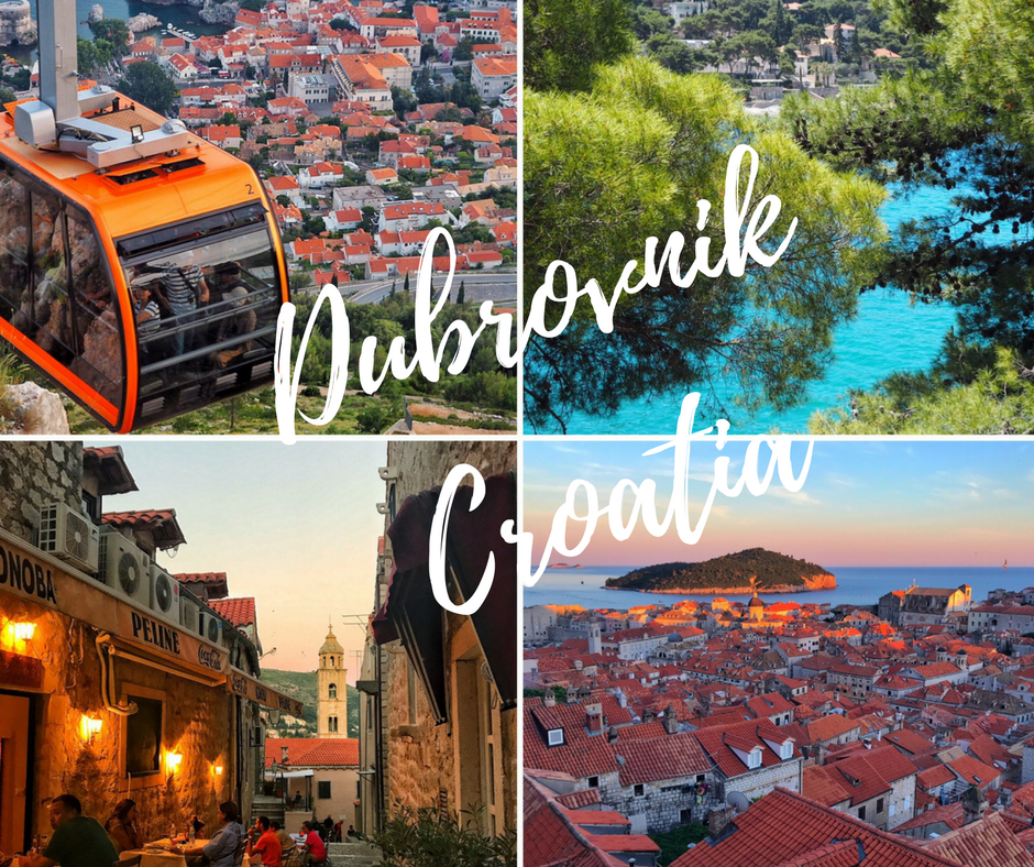 Exploring top sightseeing spots in Dubrovnik Croatia