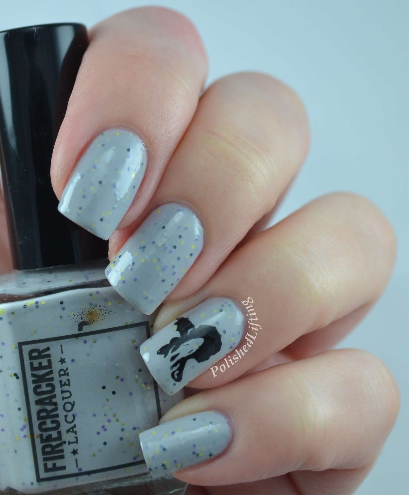 Firecracker Lacquer Titties & Dragons Everyone I Love Is Dead JR-2 stamping