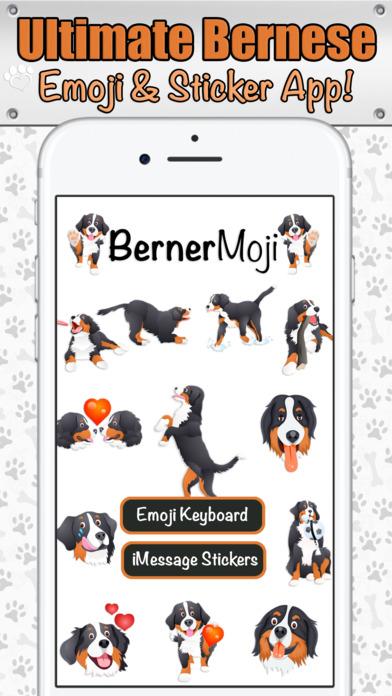 Download BernerMoji - Bernese Mountain Dog for FREE iOS IPA APK
