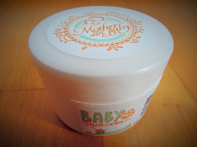 Kosmetika Hristina cosmetics Mother & Baby Baby face cream recenze