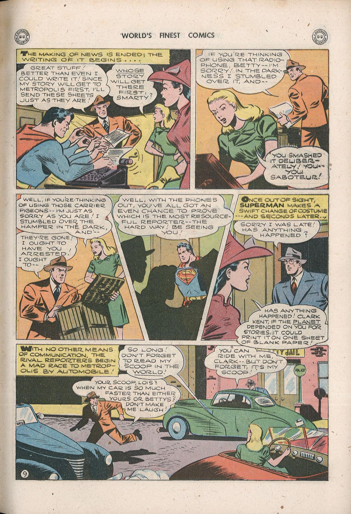Read online World's Finest Comics comic -  Issue #33 - 11