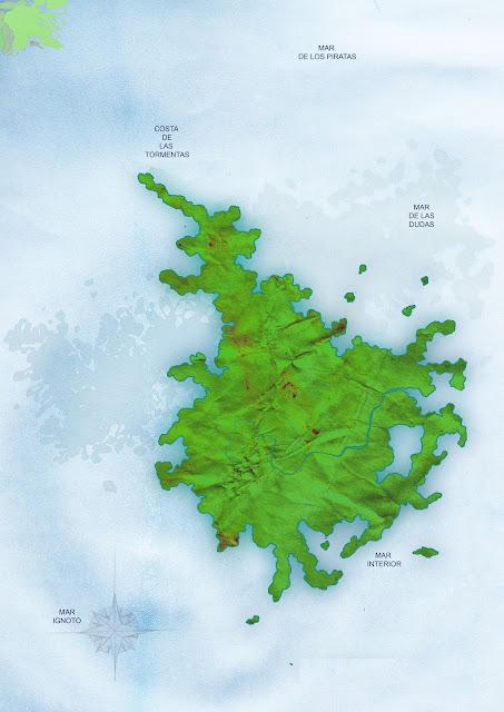 plano isla para enterrar tu tesoro