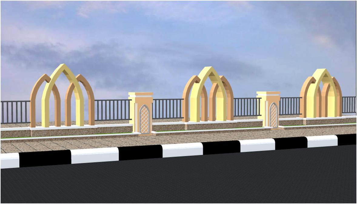 Gapura Masjid Minimalis Terbaru 276 Ide Desain Pagar Masjid Minimalis Paling Keren Model Rumah